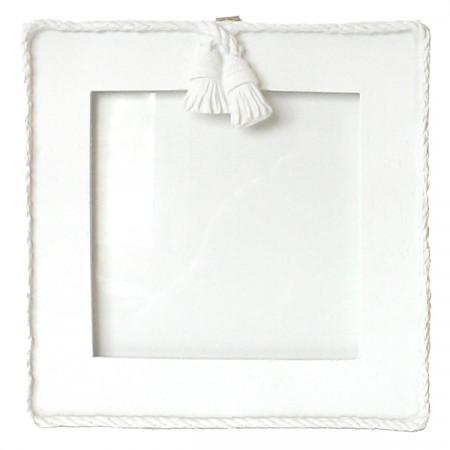 cadre photo carr blanc se meubler on line. Black Bedroom Furniture Sets. Home Design Ideas