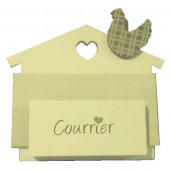 Support courrier mural