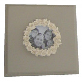 Cadre couronne de roses - CN004