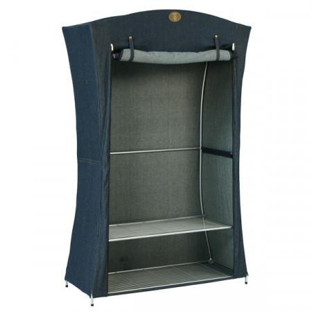penderie d 39 appoint jean bleu se meubler on line. Black Bedroom Furniture Sets. Home Design Ideas