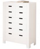 Commode 8 tiroirs blanc - Ben