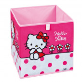 Bac de rangement pliable Hello Kitty