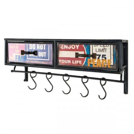 porte manteau vintage se meubler on line. Black Bedroom Furniture Sets. Home Design Ideas