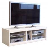 Meuble TV  125 blanc  -  B 507 BLC