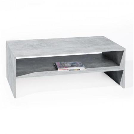 Table basse b ton se meubler on line for Table basse aspect beton