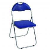 chaise pliante bleue (lot6)- shake Bleu