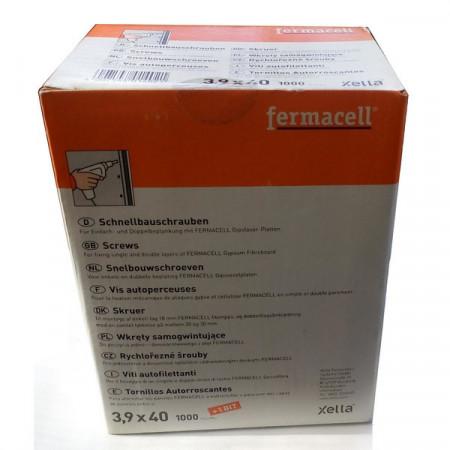 VIS FERMACELL 3.9X40 X 1000