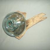 Vase racine de teck