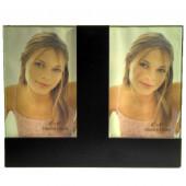 cadre 2 photos 10x15 noir - WL07