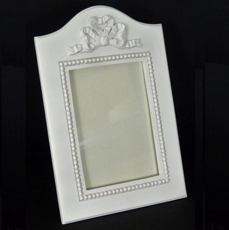 Cadre blanc romantique - 624FB
