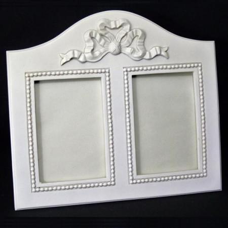 Cadre double blanc- 622FB