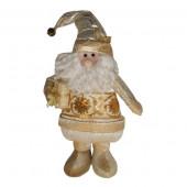 Père Noël doré 30 cm