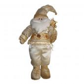 Père Noël doré 55 cm