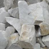 Blocs de marbre blanc