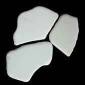 Pavé de marbre pure blanc