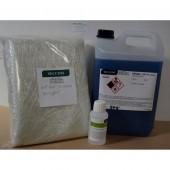 kit résine ortho 5 kg + catalyseur + mat