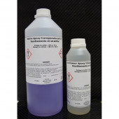 Résine epoxy transparente anti UV