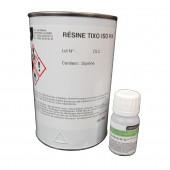 Résine polyester iso + catalyseur