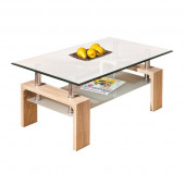 Table basse verre - LOANA
